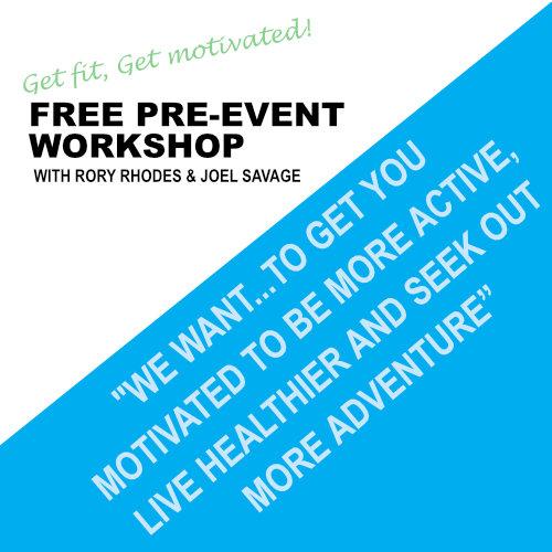 FREE Pre-Event Workshop: Get Motivated, Get Fit! September 13th